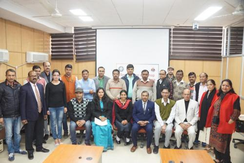 Sensitization and two days training program at Chaudhary Charan Singh Haryana Agricultural University (CCSHAU), Hisar on 12-14 February '2020